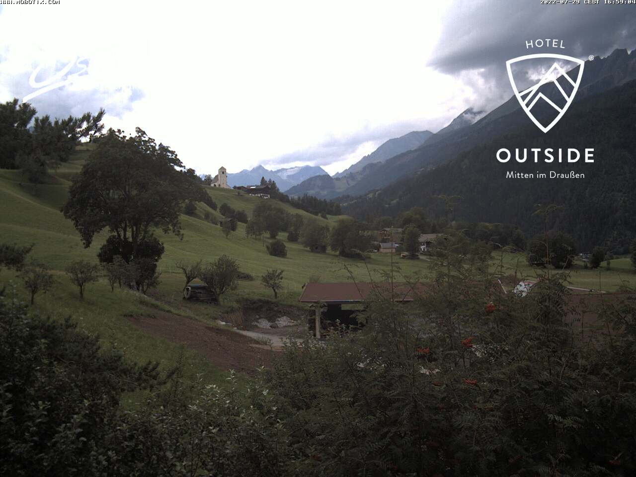 Wetter und Livebild Matrei in Osttirol (Hotel Outside), Livecam und Webcam Matrei in Osttirol (Hotel Outside) - 975 Meter Seehöhe